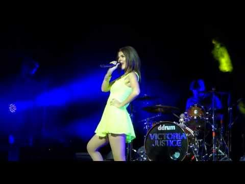 Victoria Justice - Gold - Pier Six Pavilion - Baltimore, MD