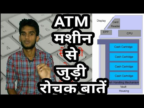 Basic information about ATM   How ATM Works [Hindi]