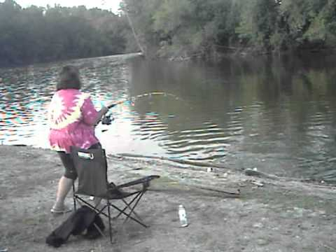dogfishing in the little calumet river in highland indiana