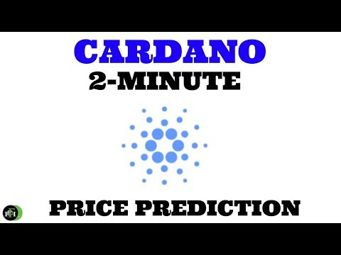 CARDANO (ADA) 2-MINUTE PRICE PREDICTION