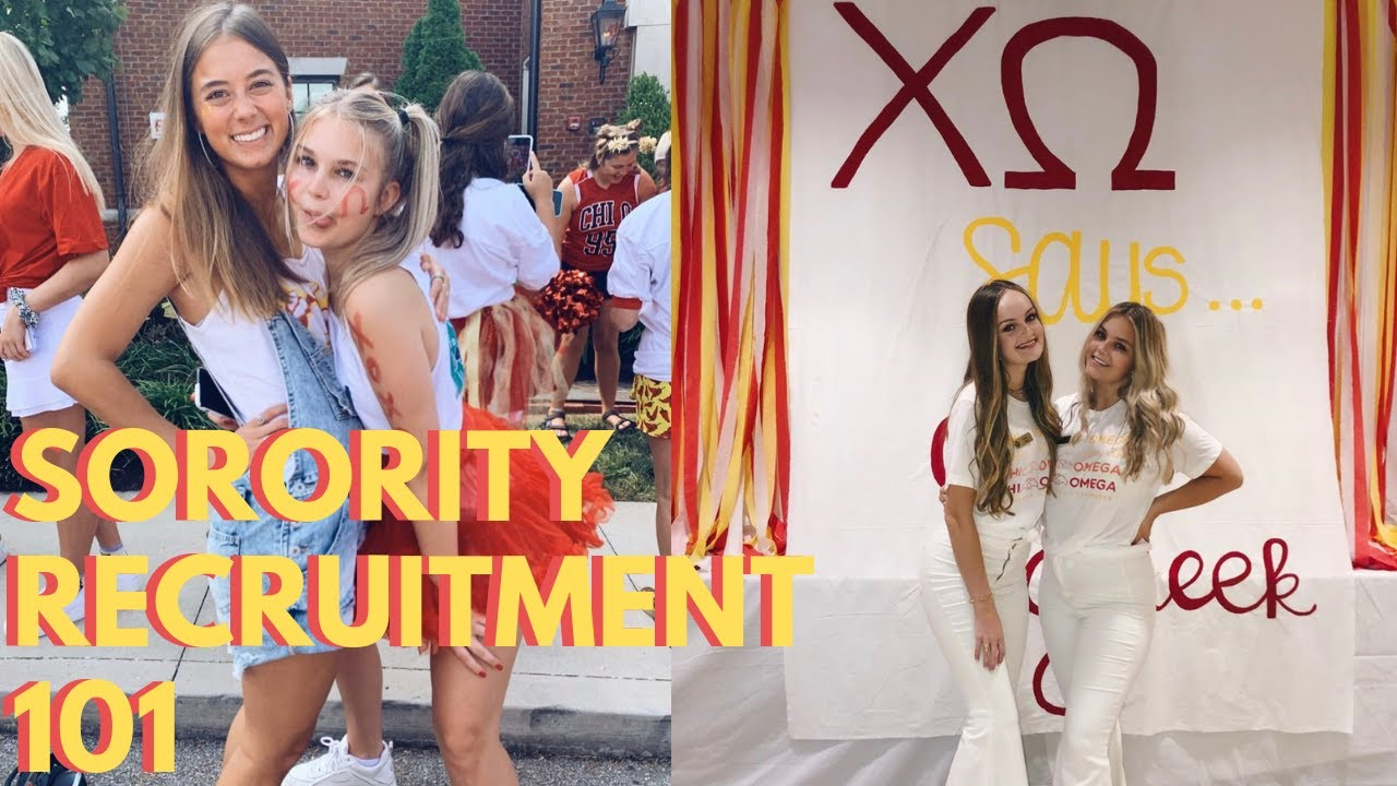sorority recruitment 101!!! TIPS & WHAT TO EXPECT