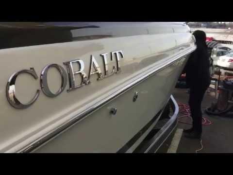 Cobalt Boat Detailing