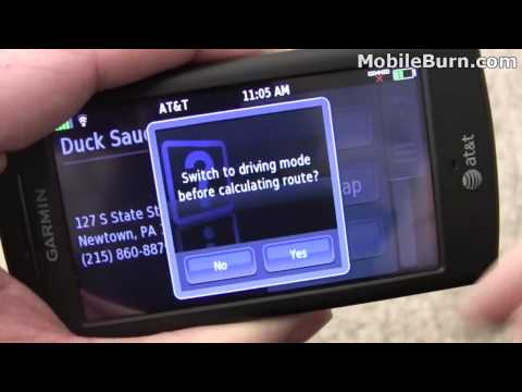 Garmin nuvifone G60 review - part 2 of 2
