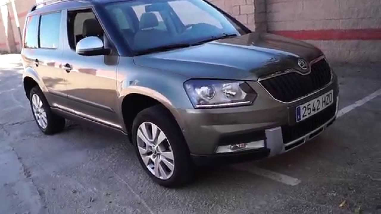 prueba skoda yeti 2 0 tdi 110 cv style de un vistazo youtube. Black Bedroom Furniture Sets. Home Design Ideas