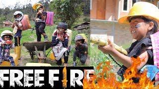 Jugando Fre Fire Footmall