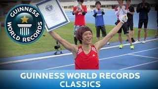 Guinness World Records Day 2013 - Fastest 100m on All Fours