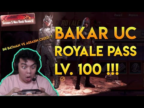 Review Royale Pass LV 100 season 5 - PUBG MOBILE INDONESIA