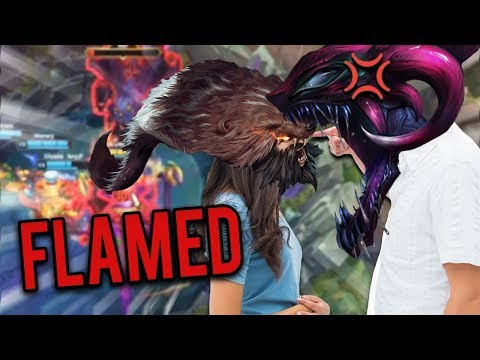 I FLAMED MY BRONZE GF??!!! | 8K HP CHO GATH...I'M A MONSTER