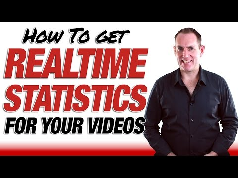 How To Get Realtime Statistics On Your YouTube Videos