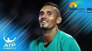Nick Kyrgios Best Shots & Moments at Miami Open 2017