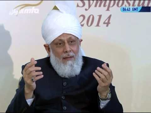 Press Conference 2014 with Hazrat Mirza Masroor Ahmad (Khalifa of Islam)