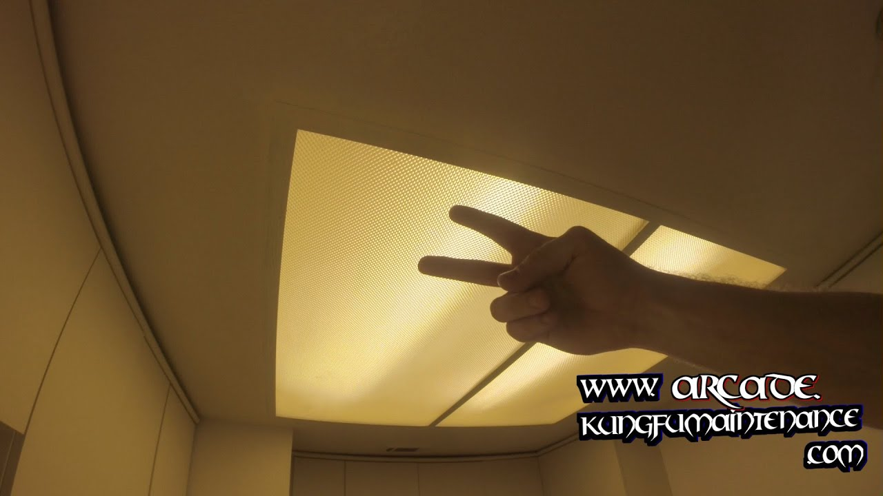 kitchen light lens diffusers down repair maintenance vide youtube