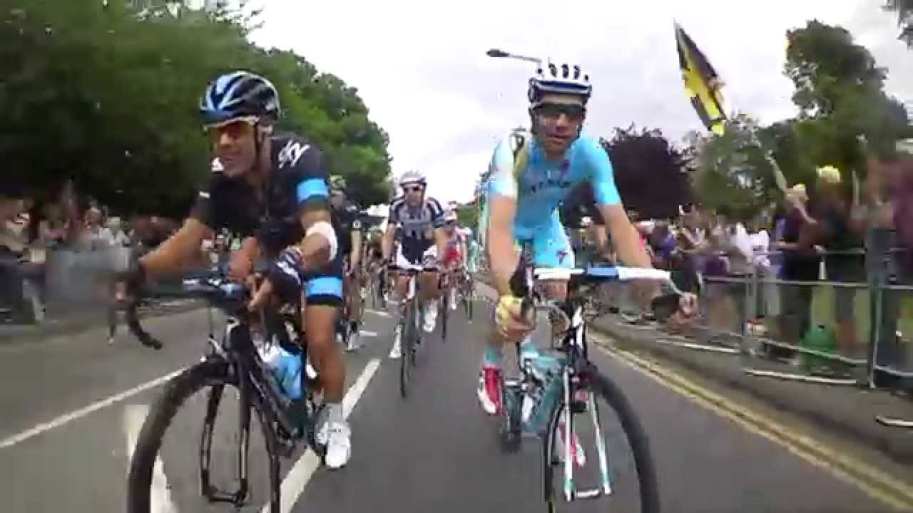 Ride with Team Sky on Stage Three of the Tour de France