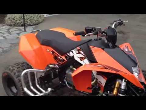 ktm 450 xc 2009 quad - youtube