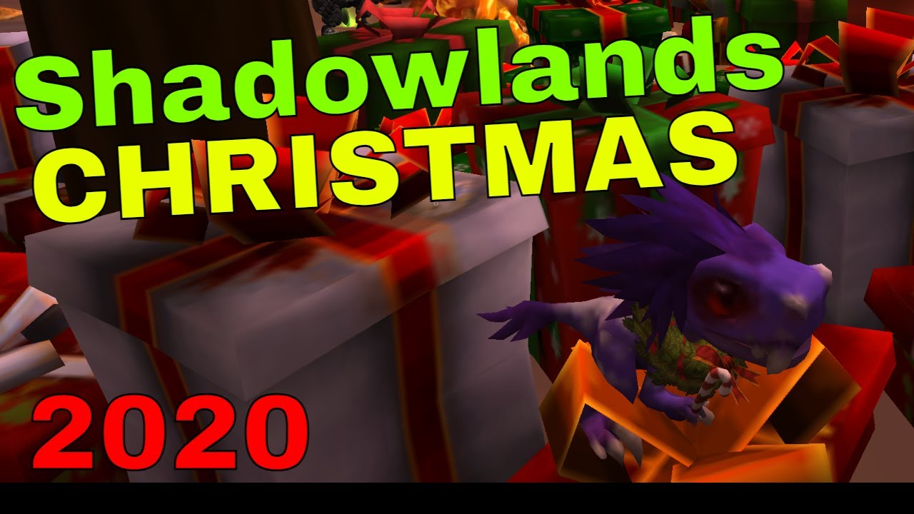 WoW Shadowlands Christmas Presents 2020   YouTube