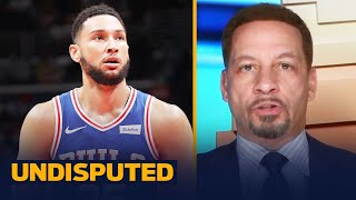 The 76ers will match hardball with Ben Simmons and not trade him yet — Broussard I NBA I UNDISPUTED