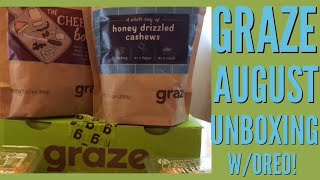 Graze Snack Box August 2018 with special guest!