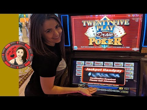 Handpay JACKPOT at $125/Bet in Las Vegas