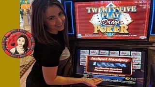 Handpay JACKPOT at $125/Bet in Las Vegas