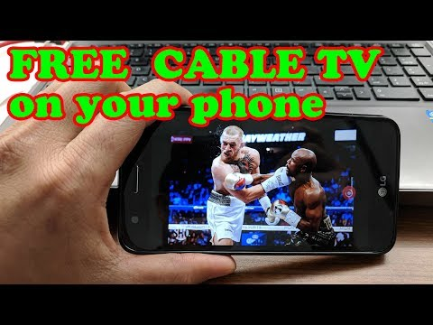 FREE Cable TV on your Android phone or Tablet