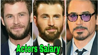 Avengers: Infinity War Cast Salary