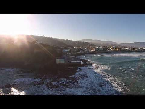 Surfing St Clair Beach In Dunedin NZ