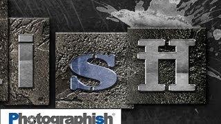 METALLSCHRIFT-LOGO -Photoshop Tutorial by Philipp Hebold