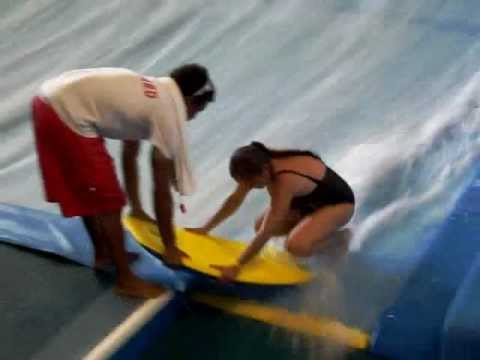 Copy Of Rachel Top Comes Off On Water Board Ride Youtube