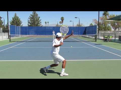 Fernando Sunago College Tennis Video