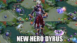 NEW HERO DYRUS | MOBILE LEGENDS NEW HERO DYRUS GAMEPLAY!!