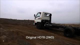 HD78 4WD KIT TEST DRIVE