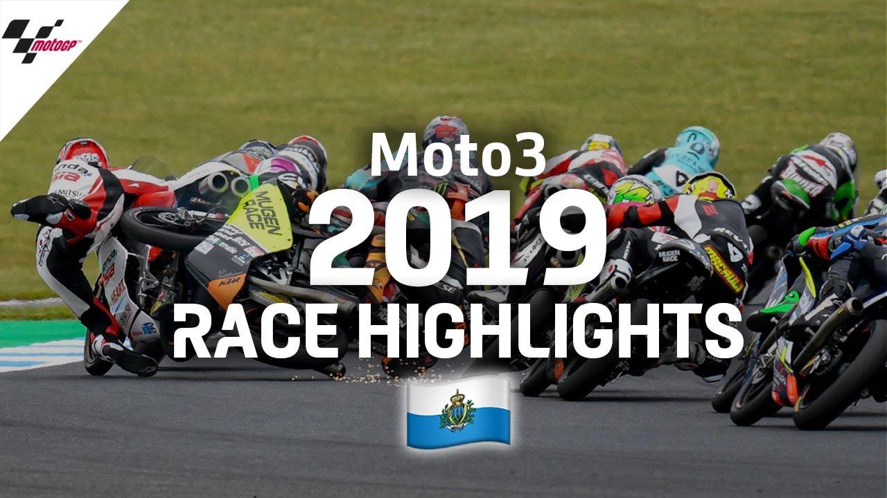 2019 #SanMarinoGP   Moto3 Race Highlights - YouTube