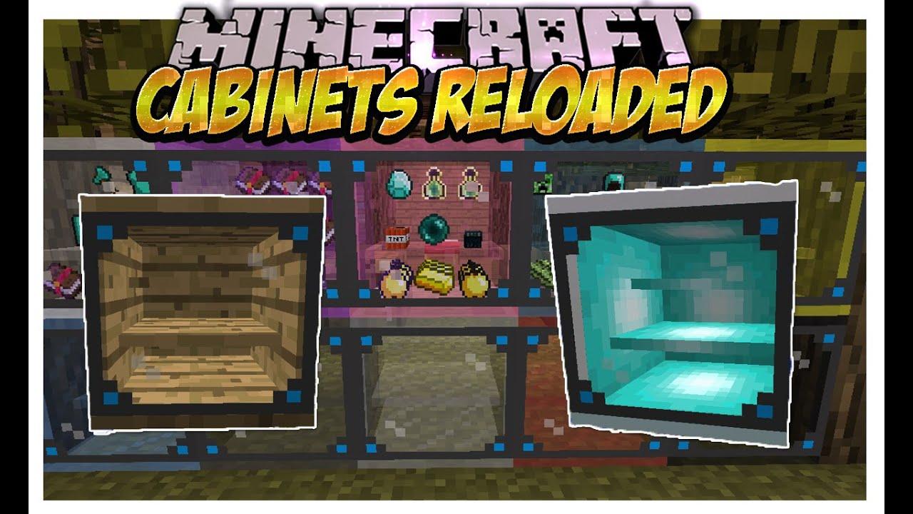 Cabinets Reloaded Mod (Cofres de Diamante,Esponja,Piedra brillante ...