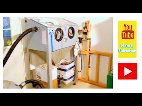 Making room for the Blasting Cabinet! - YouTube