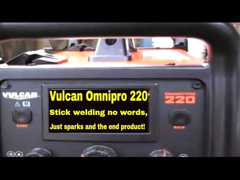 Harbor Freight Vulcan OmniPro 220 Welder | Multi-Process