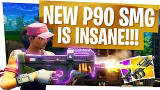 This NEW P90 Compact SMG is INSANE! - Fortnite Season 5 New Best Weapon?