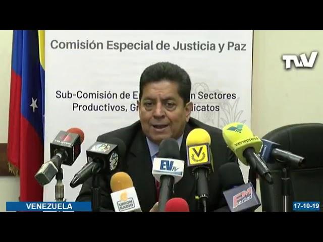 Edgar Zambrano se pronunció sobre liberación de presos políticos este #17Oct