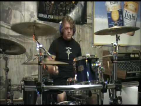 Taiyou no mannaka he drum cover