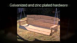 Tmp Outdoor Furniture Victorian Red Cedar Daybed Swing