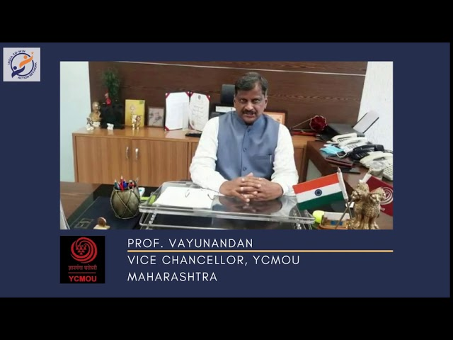 Y4AB: Messages from Esteemed Institutional Partners - Prof. Vayunandan, Vice Chancellor, YCMOU