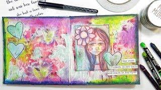 Scribble Sticks + Art Journal Printables
