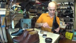 Как правильно ухаживать за любимой обувью. Ремонт обуви.