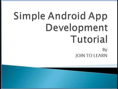 Step by Step Android App Development Tutorial in Hindi