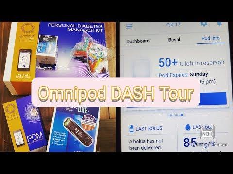 Omnipod DASH Unboxing & Tour