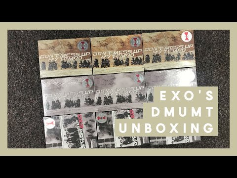 Unboxing ♡ 9 EXO's Don't Mess Up My Tempo Albums ♡ Domestic Versions!