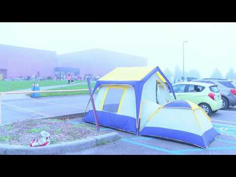RAM Clinic Patients camp out for free health care