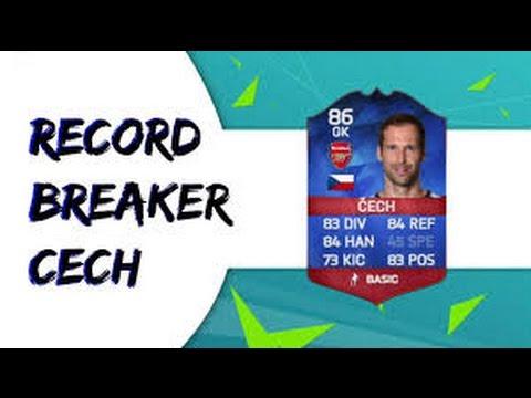 Fifa 16 Łooooooooooo RECORD BREAKER PETR CECH!!!