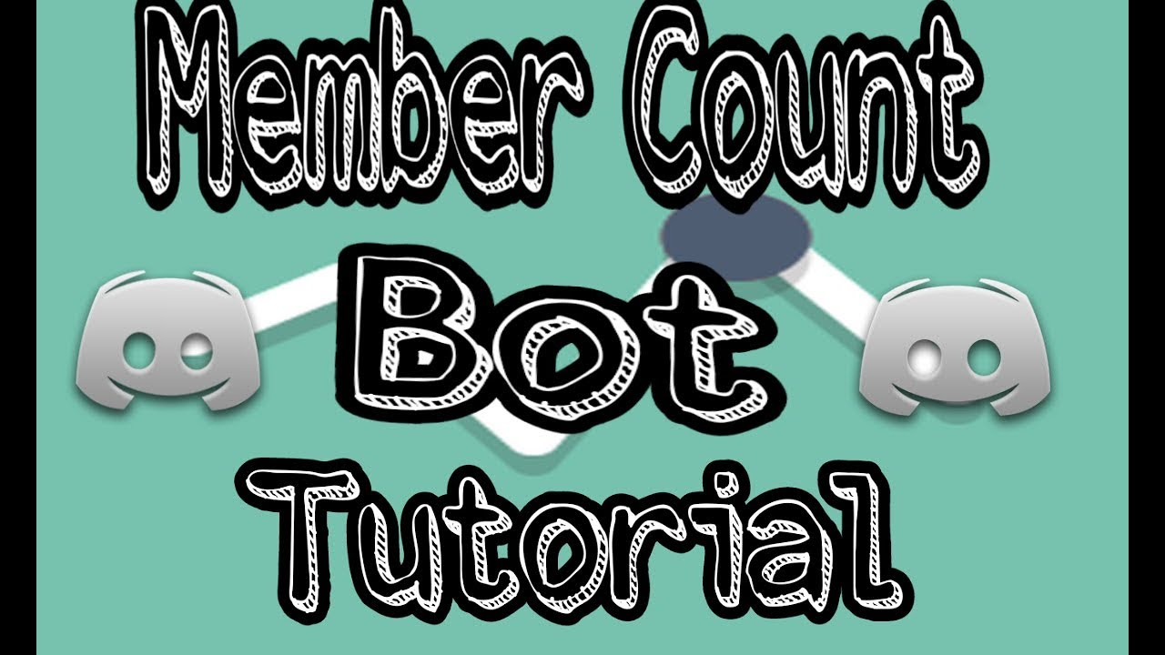 Member Count Bot setup and tutorial ||Discord tutorial 2018 #android
