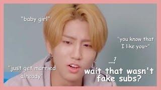 things stray kids say that seem like fake subs [THAI/ENG]