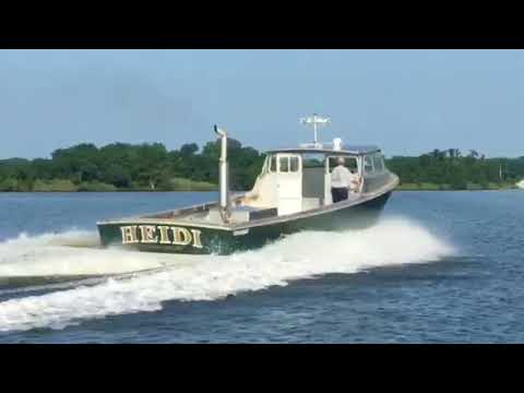 New Deckelman 40' Workboat  video 2